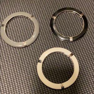3 set bangle bracelets